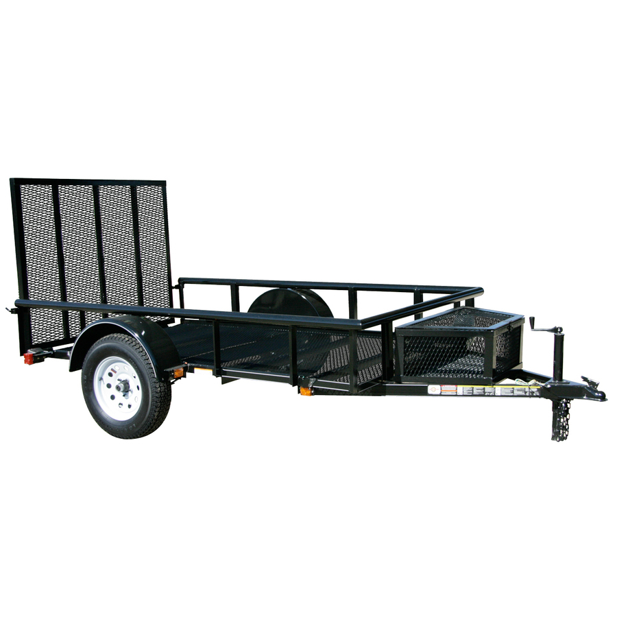 Utility Trailer - 5\' x 9\' cargo area with ramp gate - Boonies ...